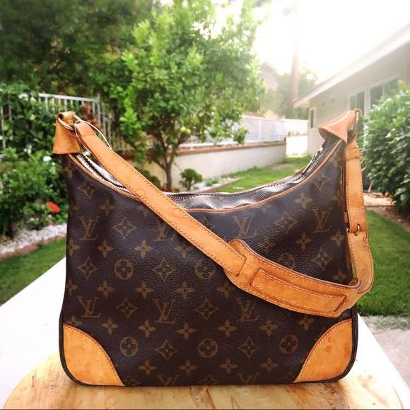 1c8f44a650ad Louis Vuitton Handbags - Louis Vuitton boulogne 30 monogram shoulder bag